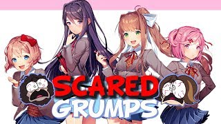Game Grumps-Doki Doki Literature Club Creepiest/Scariest Moments