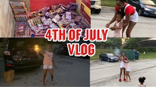 Family Vlog | 4th of July Weekend | Fireworks Gone Wrong 😱