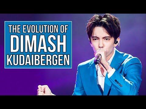 The Evolution of Dimash Kudaibergen (2013 - 2019