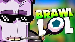 BRAWL LOL😂! Dominating Brawl Ball with FRANK! | Brawl Stars| HINDI |