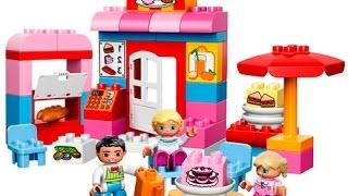 Видео обзоры LEGO Duplo Кафе