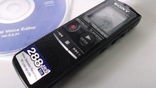 Огляд Sony ICD-PX720