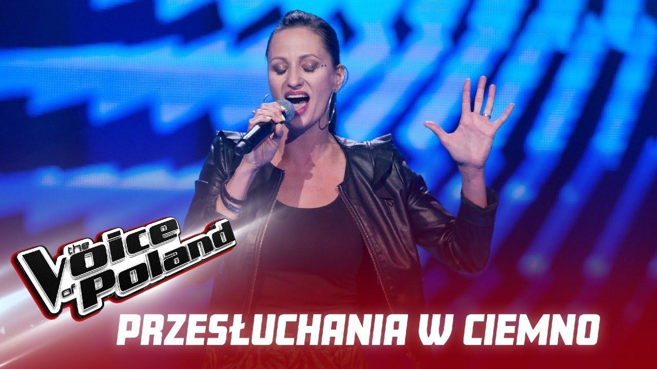 """Marta Dzwonkowska - """"Hot Right Now"""" - Przesłuchania w ciemno - The Voice of Poland 12"""