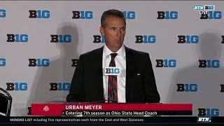 Ohio State Coach Urban Meyer | 2018 Big Ten Football Media Days