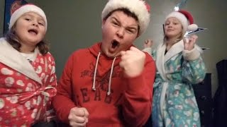 """Lip Sync of """"Christmas (Baby Please Come Home)"""" By Michael Bublé"""