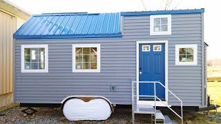 "Tiny House On Wheels - 88"" X 90"" Loft With Stairs 