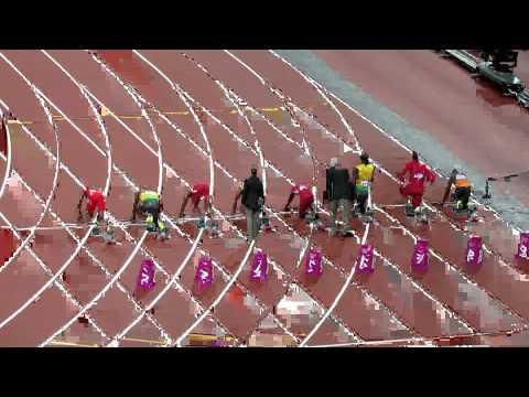 Home video : 100 meter Ussain Bolt