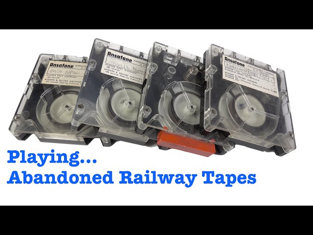 Abandoned Railway Carts - Mystery tapes from a disused comms room