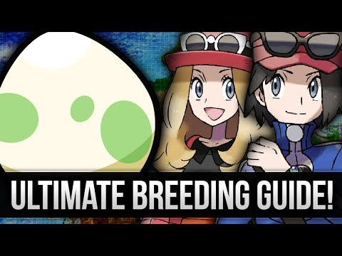 Pokemon Ultimate Breeding Guide (How To Get Perfect Natures And IVs)  W/Pheonixmaster1
