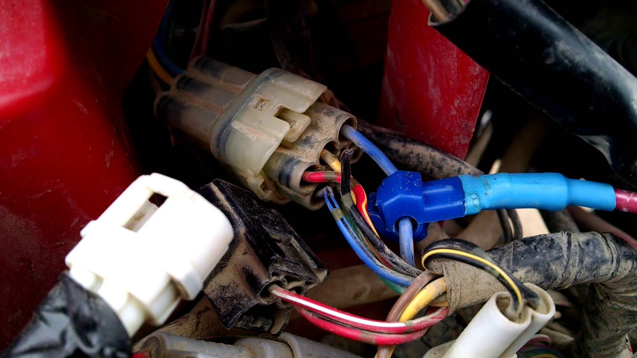 Light Bar Installation On A 2003 Yamaha Grizzly Youtube Wiring Diagram Plug Accessory Premium