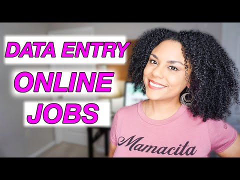 7 Legit Data Entry Jobs From Home! Work At Home 2020!