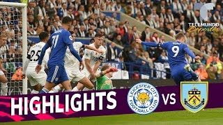 Leicester City vs. Burnley: 0-0 Goals & Highlights | Premier League | Telemundo Deportes