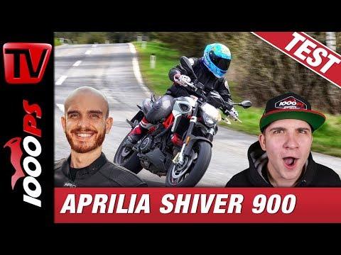 Aprilia Shiver 900 Test - V2 Genuss auch für Einsteiger!