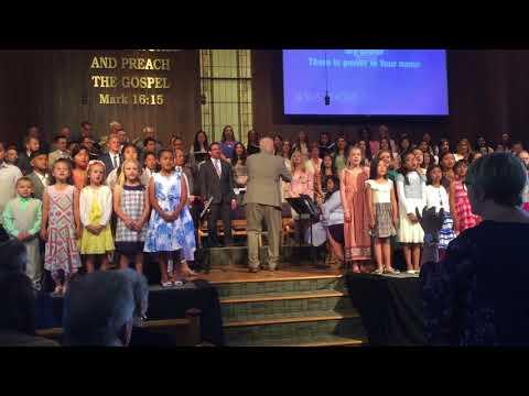 Jesus - Faith Baptist Church & Kid's Choir - Resurrection Sunday 2018