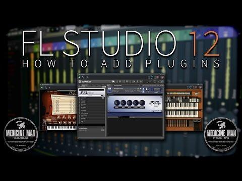 FL Studio 12 - How To Add Plugins