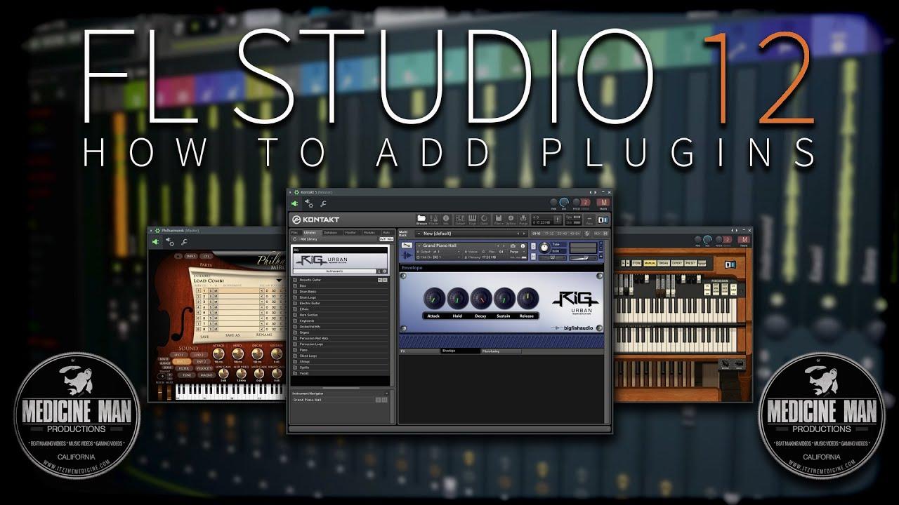 FL Studio 12 & 20 - How To Add Plugins