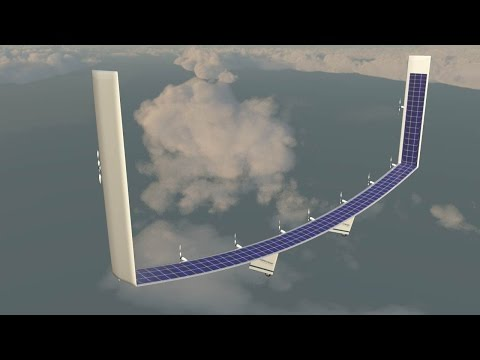Boeing patents first solar powered plane that can fly foreve