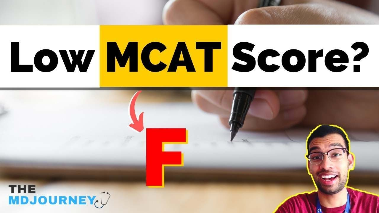How to Get into Med School with Low MCAT score