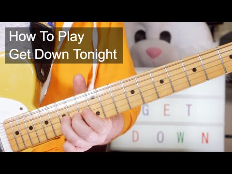 'Get Down Tonight' KC & The Sunshine Band Guitar & Bass Lesson
