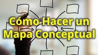 Cómo Hacer un Mapa Conceptual Paso a Paso