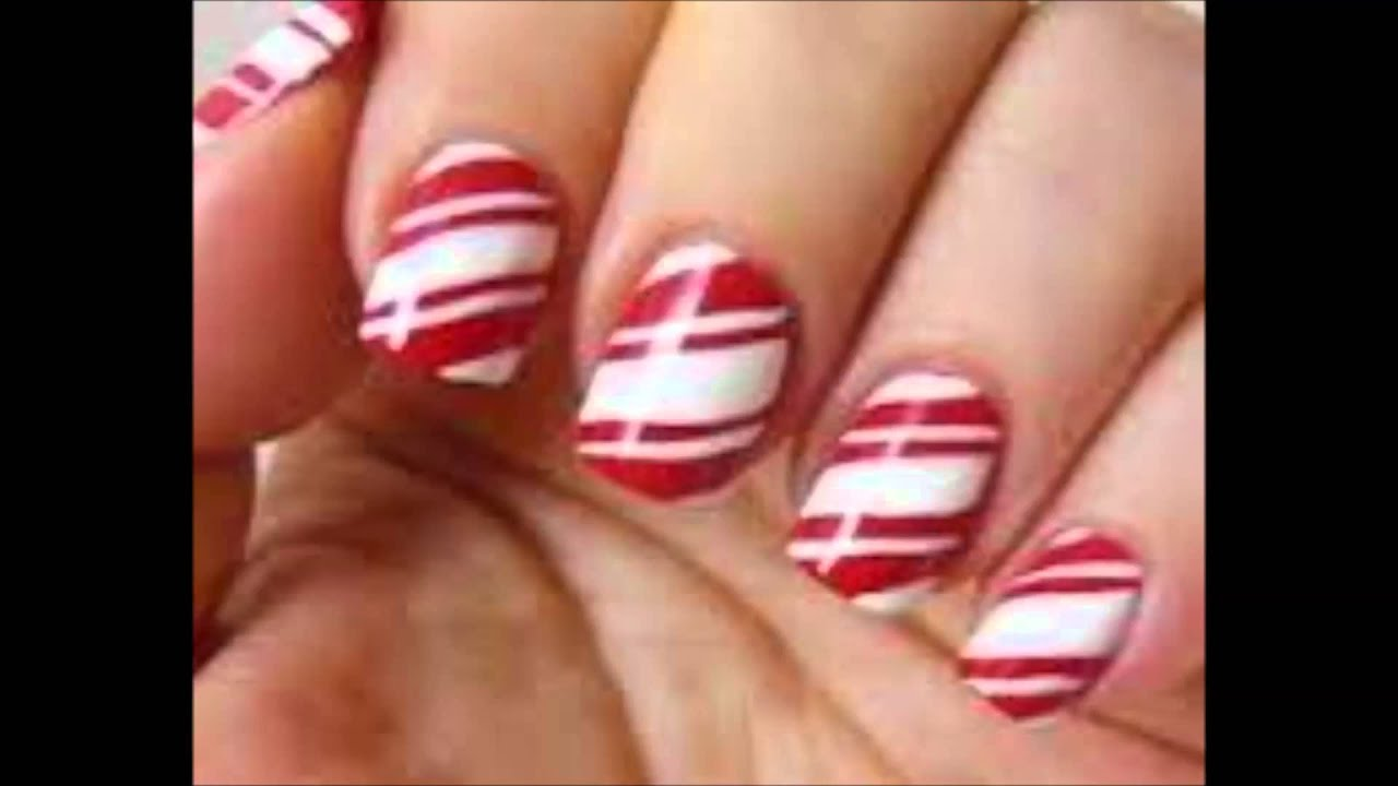 Top 10 +1 Weihnachts Nägel Designs christmas nails Inspiration red ...