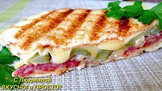 Как приготовить сэндвич Идеи для сэндвичей Что положить в закрытый горячий бутерброд Sandwiches