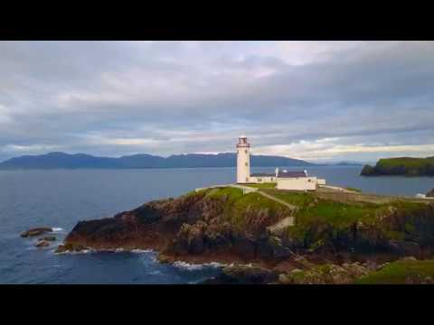 Fanad Head Lighthouse  - Ireland - DJI Mavic Pro
