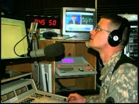 US Army Radio Iraq Announces the Death of MaFish Laden Live 2/5/11أسامة بن لادن