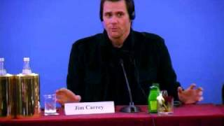 YES MAN - Jim Carrey Zooey Deschanel Peyton Reed PRESS CONFERENCE STAMPA 1 Roma PREMIERE