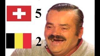 Risitas débrief Suisse - Belgique (5-2)