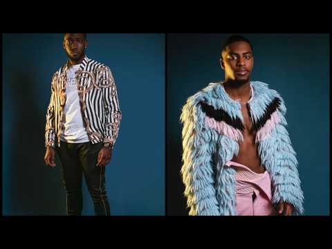 Kupe Boys Valentines Day Shoot with Glam Africa Magazine - Behind The Scenes