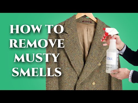 How to Remove Musty Smells from Vintage Clothing - Odor Elimination Secrets