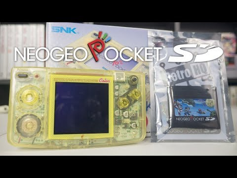 Neo Geo Pocket SD - Flash Cart for NGPC quick review!