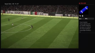 Fifa 18 canli yayini PS4