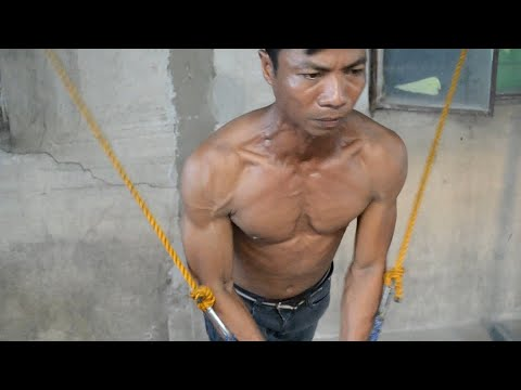 EPIC Chest Workout - Killer Chest - Poor Man's Homemade Gym