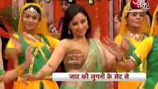 Munni dancing in Jyoti's sangeet night in Jaat Ki Jugni