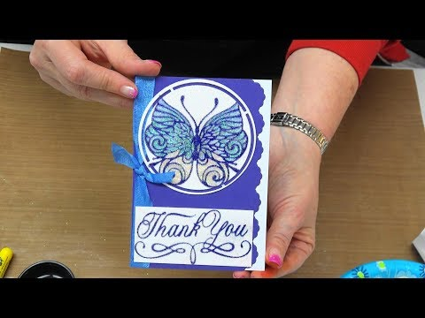 #259 Learn Easy & Stunning Stained Glass Effect with NEW Hot Foil Plates by Scrapbooking Made Simple