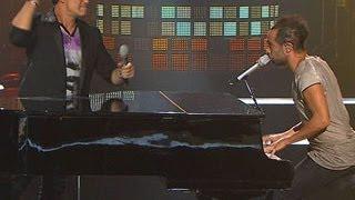 Alejandro Sanz y Mario Domm - Mientes | Vídeo FANS Increíble