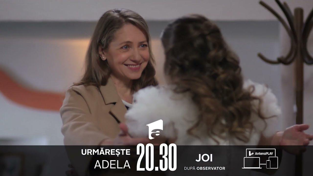 Cea mai emoționantă revedere! Nu rata finalul acestui sezon din Adela, joi, de la 20:30, la Antena 1