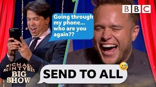 Download Send To All with Olly Murs - Michael McIntyre's Big Show: Series 2 Episode 1 - BBC One Mp3 and Videos
