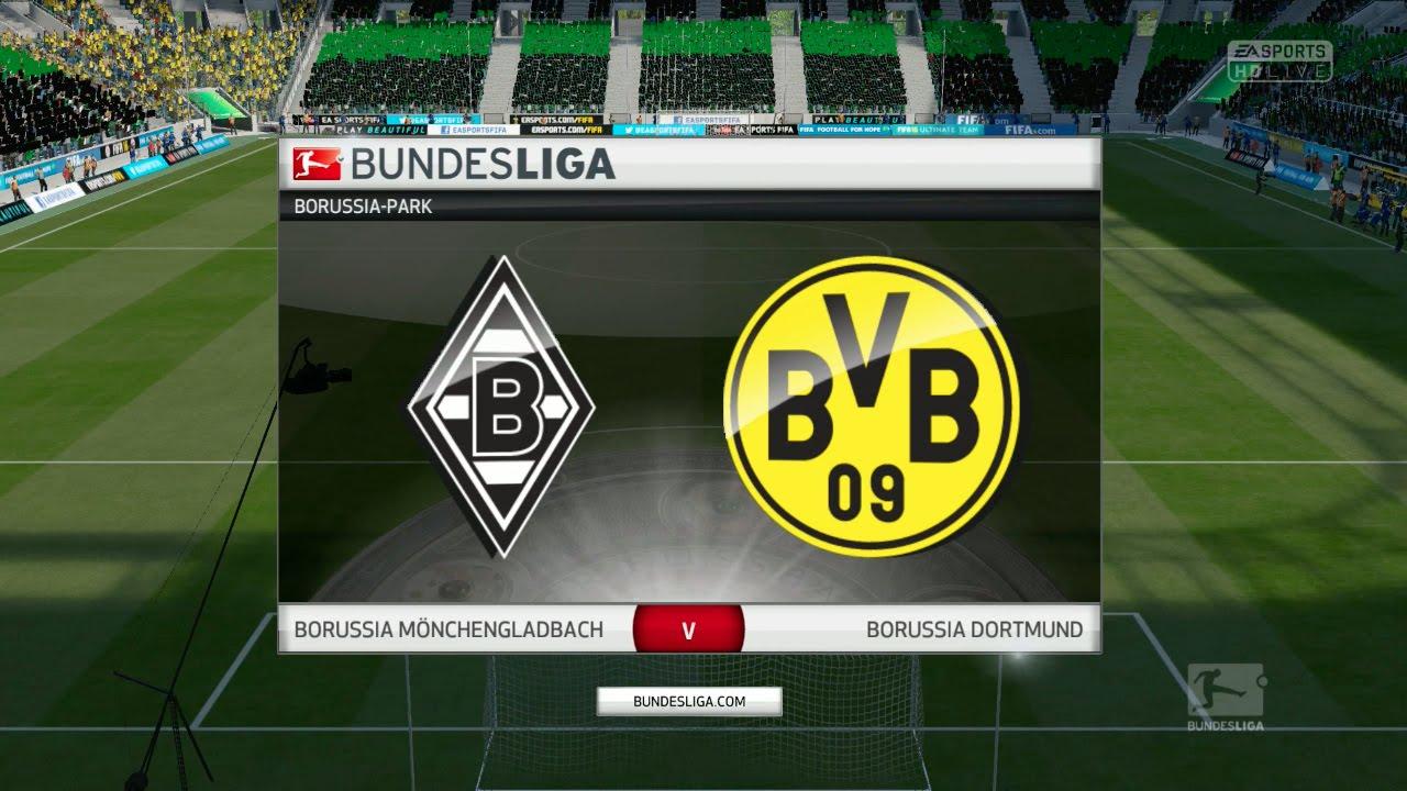 Borussia Dortmund Vs Borussia Mönchengladbach