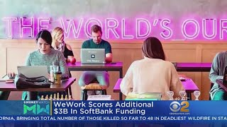 WeWork Gains Another $3B In Funding