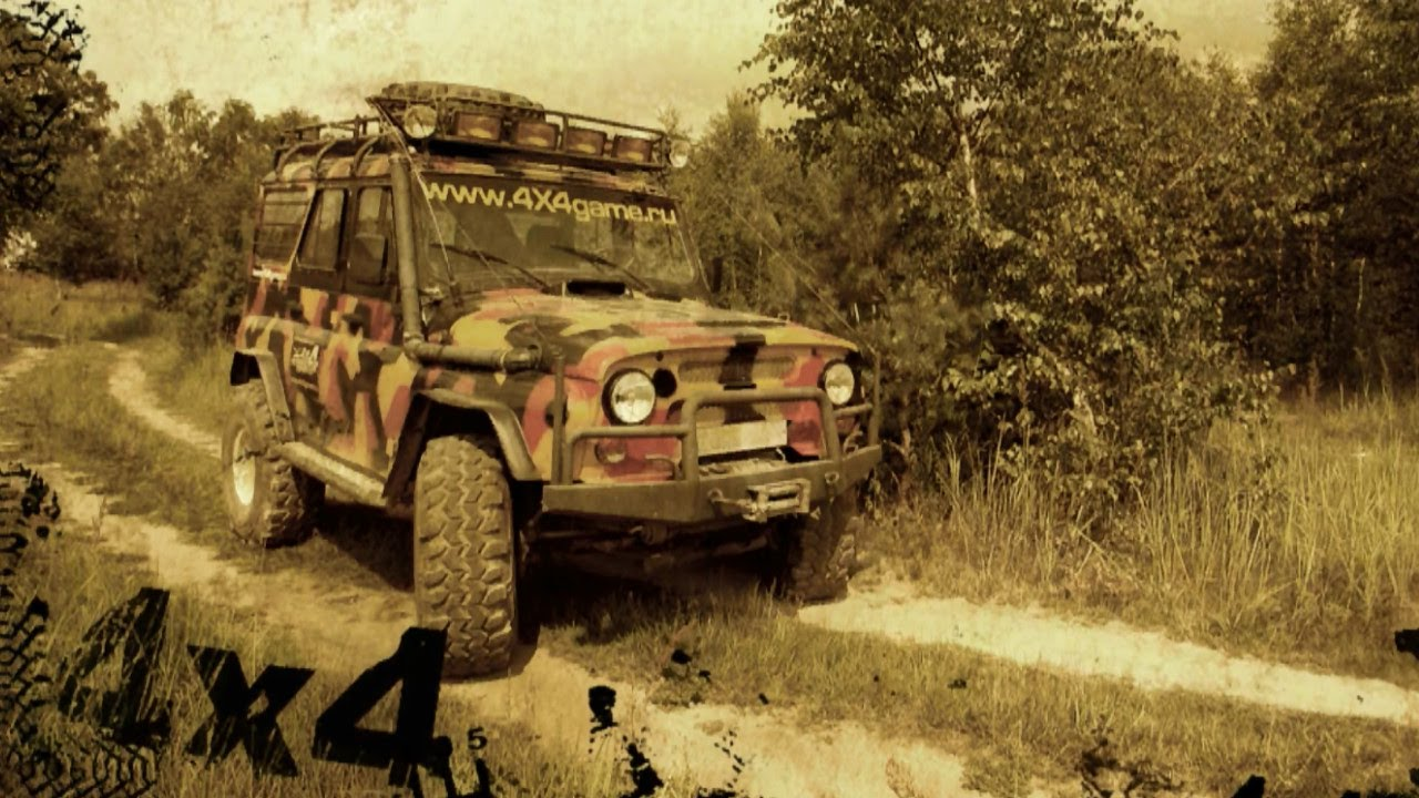 uaz 4x4 off road