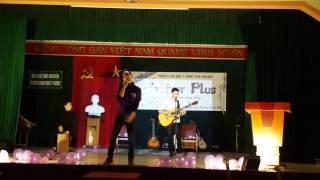 Bống bống bang bang acoustic Clb guitar DH y dược Thái Nguyên  ( simchan poun lu du học sinh campuch