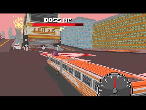 OmniBus PC -World 1 DOOM Bus Boss Fight #1 Survival Challenge