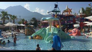 Обзор отеля Queens Park Tekirova Турция 2019 Подробный обзор отдых с детьми в Турции