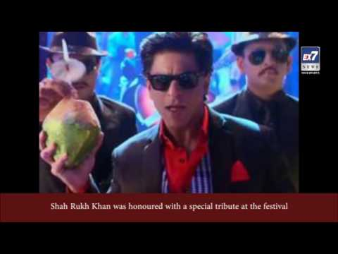 Shah Rukh Khan Danced With Brett Ratner On Lungi Dance. | Ex7News Broadcast