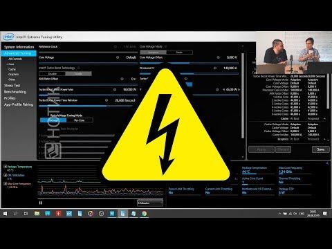 О показателях Turbo Boost Power в утилите Intel XTU