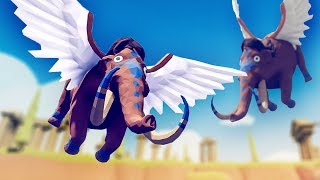 FLYING MAMMOTH IN MODDED TABS - TABS Early Access Release (Totally Accurate Battle Simulator)
