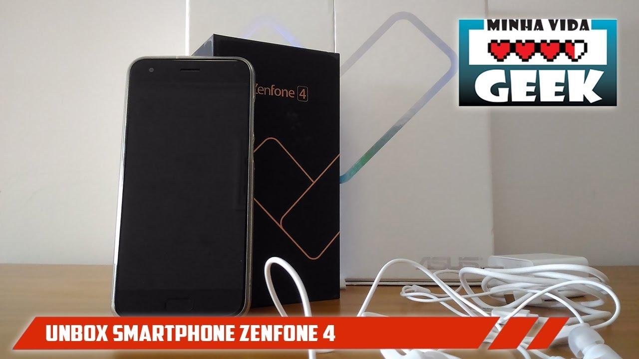 Unbox Zenfone 4